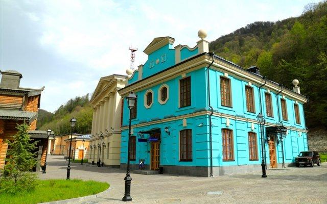 Отель Moya Rossiya Сочи вид на фасад