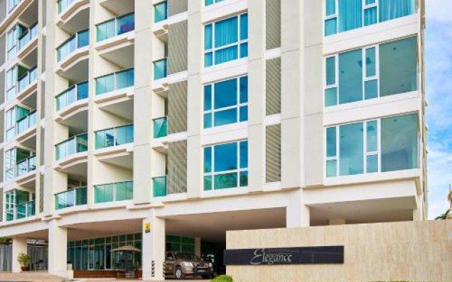 Отель Elegance By Mypattayastay Паттайя вид на фасад