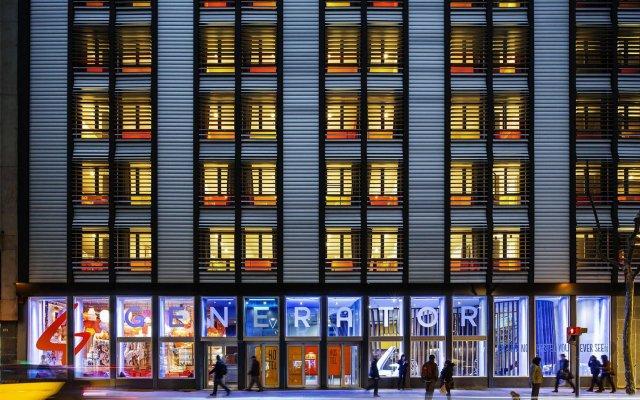 Generator Hotel Barcelona вид на фасад