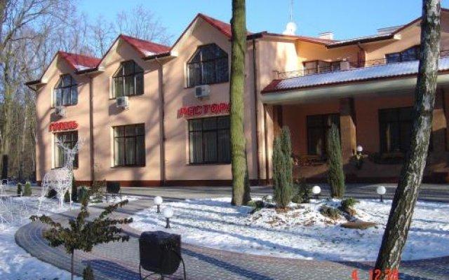 Гостиничный Комплекс Зеленый Гай вид на фасад
