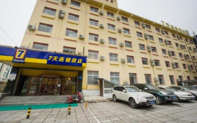 Отель 7Days Inn Beijing Qianmeng Китай, Пекин - отзывы, цены и фото номеров - забронировать отель 7Days Inn Beijing Qianmeng онлайн вид на фасад