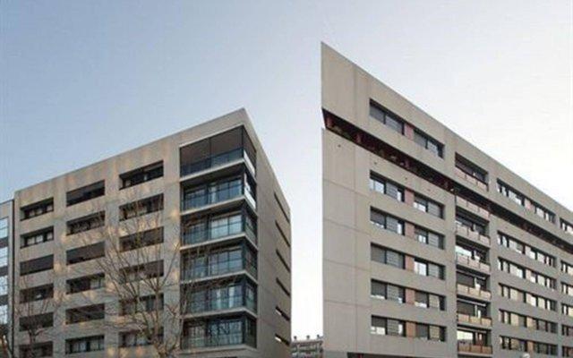 Апартаменты Ciutadella Park Apartments вид на фасад
