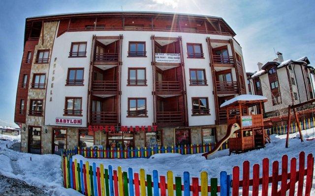 Апартаменты Predela 1 Holiday Apartments вид на фасад