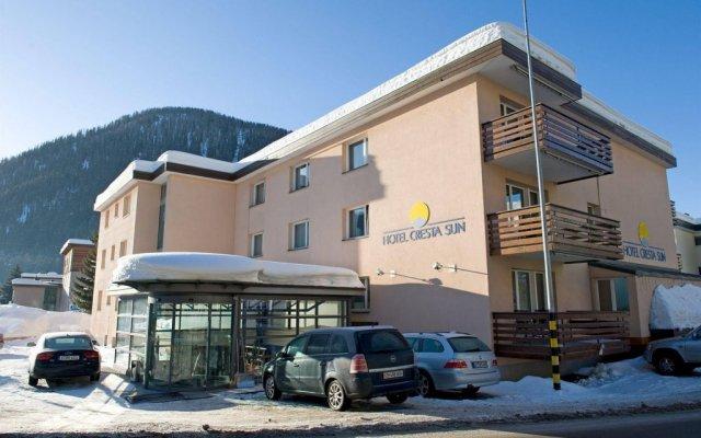 Отель Cresta Sun Швейцария, Давос - отзывы, цены и фото номеров - забронировать отель Cresta Sun онлайн вид на фасад