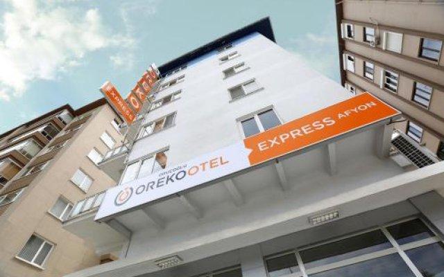 Отель Oreko Express Афьонкарахисар вид на фасад