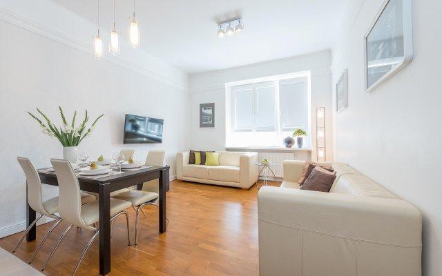 Апартаменты P&O Apartments Dmochowskiego комната для гостей