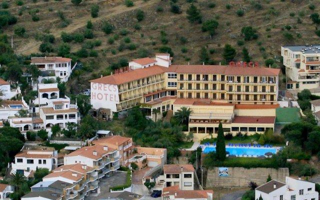 Отель GRECS Курорт Росес вид на фасад
