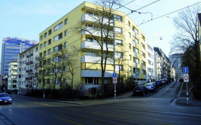 Отель Swiss Star Zurich Oerlikon вид на фасад
