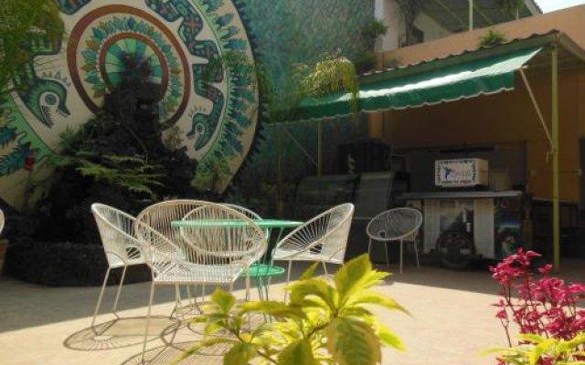 Отель Hostal Centro Historico Oasis Мехико вид на фасад