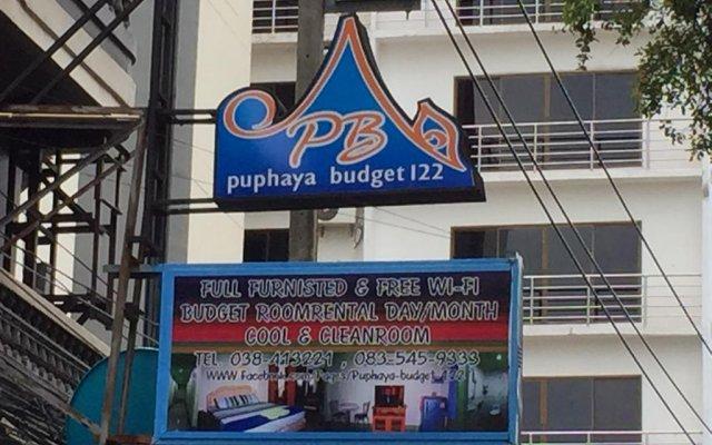 Отель Puphaya Budget 122 Паттайя вид на фасад