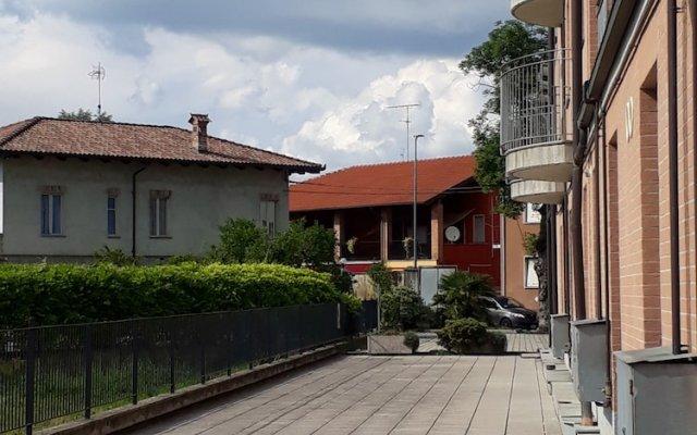 Отель Albergo Motta Асти вид на фасад