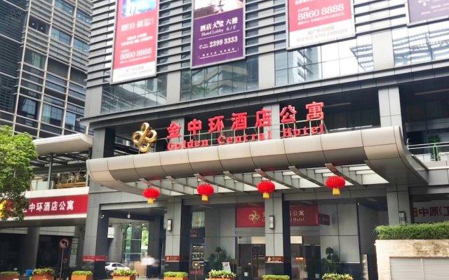 Golden Central Hotel Shenzhen вид на фасад