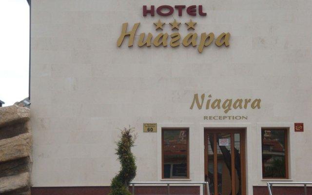 Hotel Niagara вид на фасад