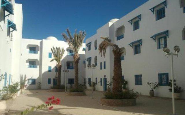 Отель Residence Ben Sedrine Тунис, Мидун - отзывы, цены и фото номеров - забронировать отель Residence Ben Sedrine онлайн вид на фасад