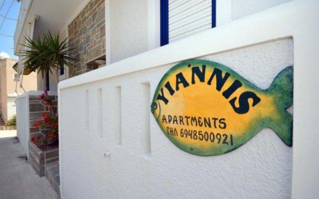 Отель Yiannis Studios вид на фасад