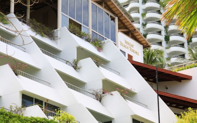 Отель Royal Cliff Beach Terrace Hotel Таиланд, Паттайя - отзывы, цены и фото номеров - забронировать отель Royal Cliff Beach Terrace Hotel онлайн вид на фасад
