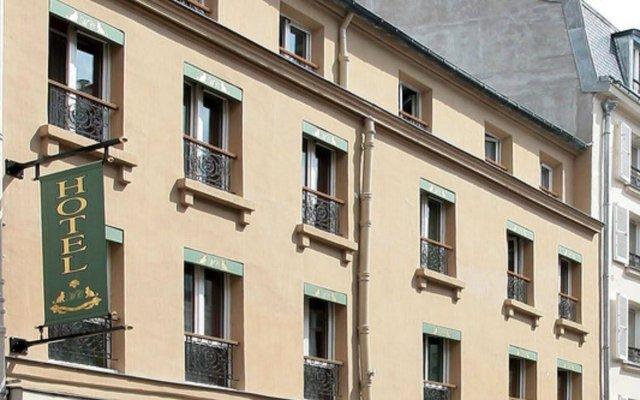 Отель Hôtel Monte Carlo вид на фасад