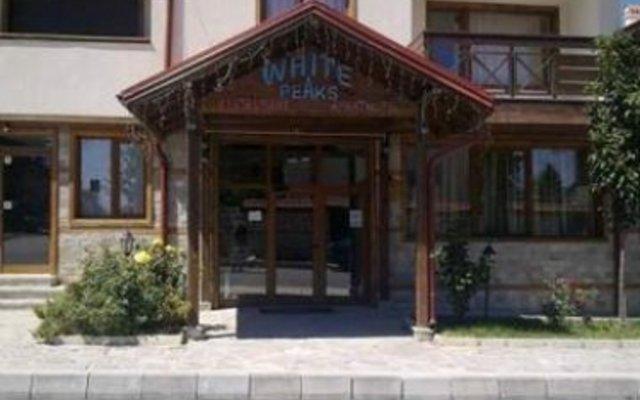 Отель White Peaks Банско вид на фасад