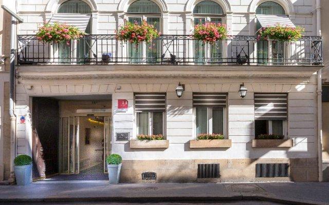 Отель Relais du Silence Hôtel des Tuileries Франция, Париж - отзывы, цены и фото номеров - забронировать отель Relais du Silence Hôtel des Tuileries онлайн вид на фасад