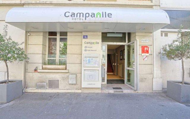Отель Campanile Paris Ouest - Boulogne Булонь-Бийанкур вид на фасад