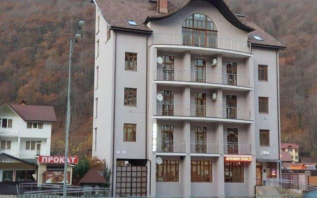 Gorny Uyut Hostel вид на фасад
