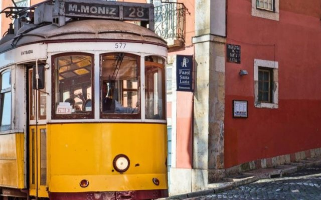 Отель Stay Inn Lisbon Hostel Португалия, Лиссабон - отзывы, цены и фото номеров - забронировать отель Stay Inn Lisbon Hostel онлайн вид на фасад