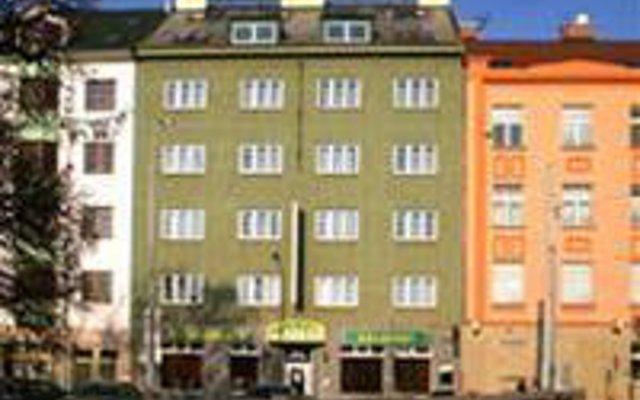 Отель Bohemika Чехия, Прага - отзывы, цены и фото номеров - забронировать отель Bohemika онлайн вид на фасад