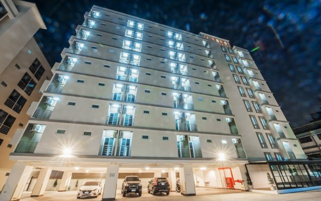 U Sabai Hotel Бангкок вид на фасад