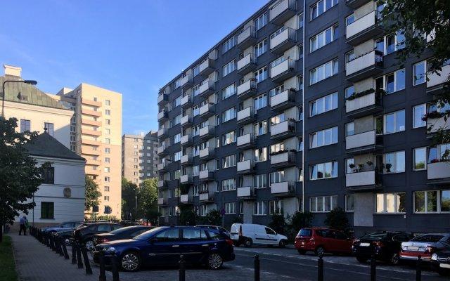Апартаменты Plac Teatralny Imaginea City Apartments Варшава вид на фасад