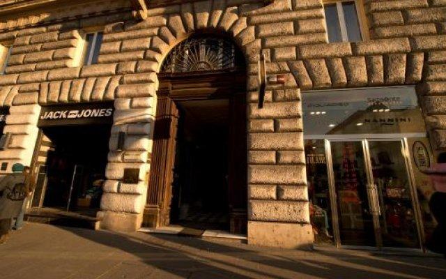 Отель ESPOSIZIONE Рим вид на фасад