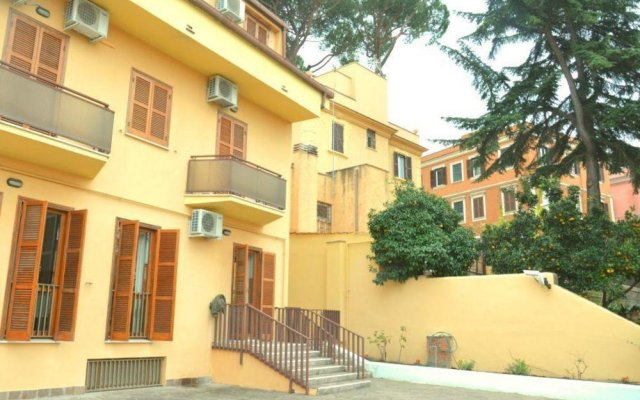 Отель Domus Getsemani вид на фасад