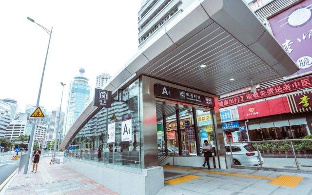 Shenzhen Renshanheng Hotel Шэньчжэнь вид на фасад