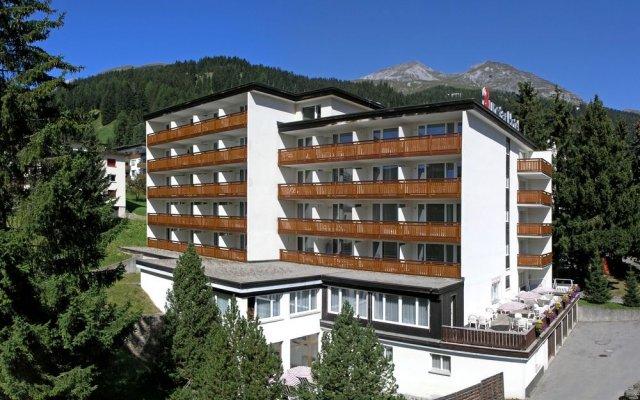 Отель Sunstar Hotel Davos Швейцария, Давос - отзывы, цены и фото номеров - забронировать отель Sunstar Hotel Davos онлайн вид на фасад