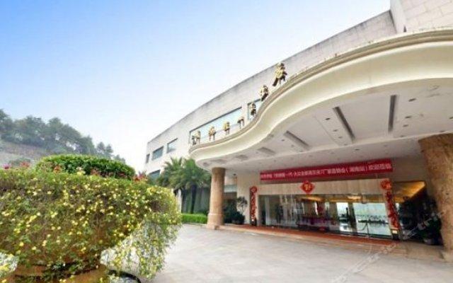 Changsha Dolton Tongsheng Resort Hotel вид на фасад