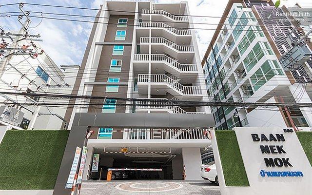 Отель Baan Mek Mok Бангкок вид на фасад
