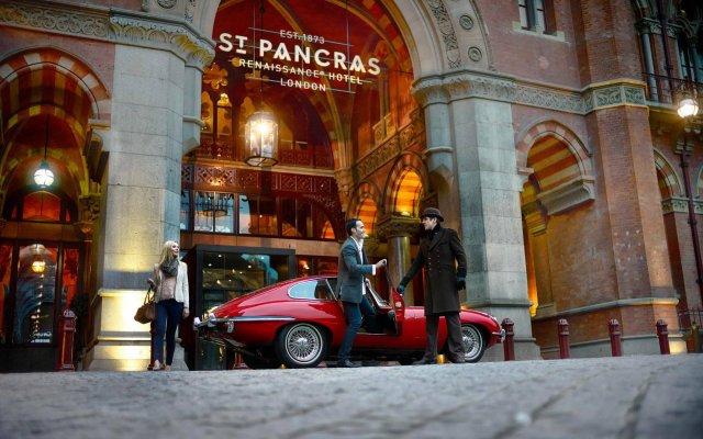 St. Pancras Renaissance Hotel London вид на фасад