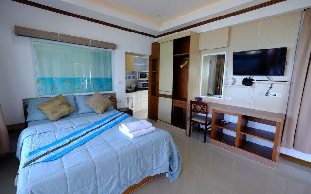 Отель Sanggaou Bungalows Ланта комната для гостей