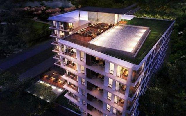 Отель Oceanstone 604 вид на фасад