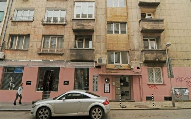 Апартаменты Stefani Apartment вид на фасад