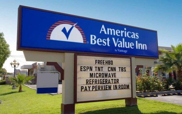 Отель Americas Best Value Inn - Milpitas вид на фасад