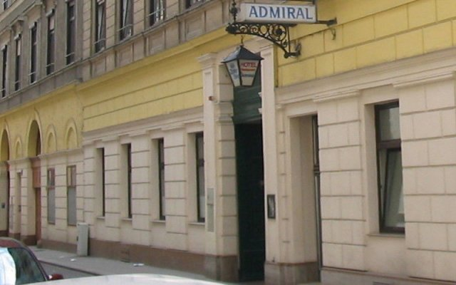 Hotel Admiral вид на фасад