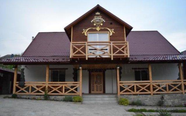 Отель Tsarska Dolina Каменец-Подольский вид на фасад