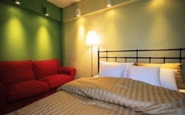 Отель Indeco Bangkok Bed & Breakfast комната для гостей