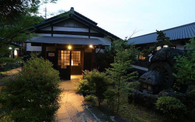 Отель Ryokan Minawa Минамиогуни вид на фасад