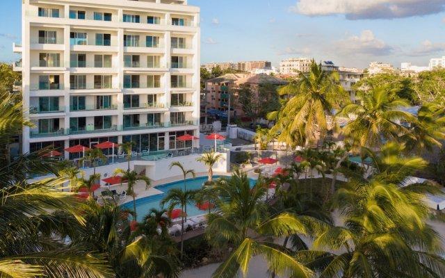 Отель Boca Beach Residence вид на фасад