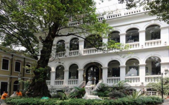Отель Guangdong Oversea Chinese Hotel Китай, Гуанчжоу - отзывы, цены и фото номеров - забронировать отель Guangdong Oversea Chinese Hotel онлайн вид на фасад