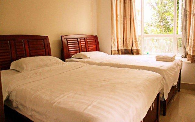 Апартаменты Sanya Lucky Island Holiday Apartment комната для гостей