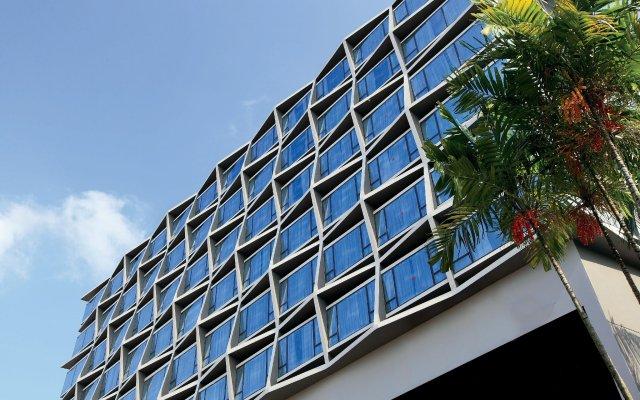 Отель Travelodge Harbourfront Singapore вид на фасад