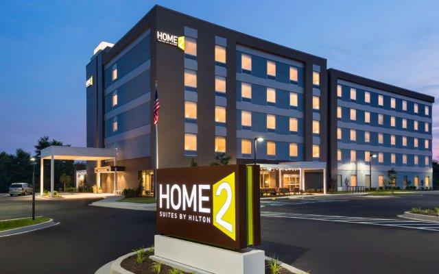 Отель Home2 Suites by Hilton Frederick вид на фасад