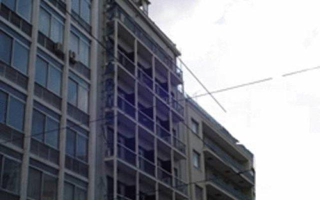 Отель Aris Hotel Греция, Афины - отзывы, цены и фото номеров - забронировать отель Aris Hotel онлайн вид на фасад
